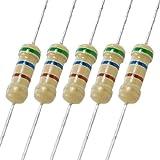 Aexit 2000 Pcs Fixed Resistors 560 Ohm 1/2W Watt 5% axia_l Carbon Single Resistors Film Resistors