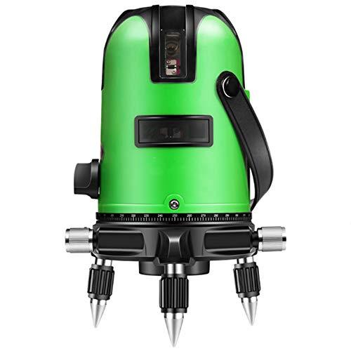 Hoge precisie, automatische dunne lijn, schittering, laserweegschaal, waterpas, groen