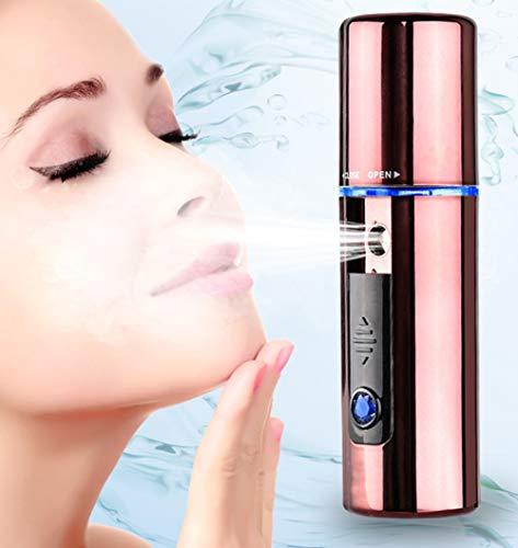 HYZY Portátiles Facial Hidratante Facial Artefacto Humidificador USB Recargable Crema Hidratante Facial De Vapor De Hogares SPA
