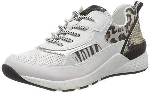 MARCO TOZZI Damen 2-2-23734-34 Sneaker, Weiß (White Comb 197), 40 EU