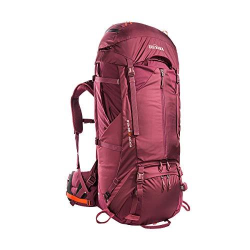 Tatonka Yukon X1 65+10 Sac à dos de randonnée pour femme Rouge bordeaux 65 l (+ 10 l)