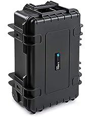 B&W Jumbo 6600 Gereedschapskoffer met gasveren (met insteekvakken voor gereedschap, koffer van PP, volume 26,4 l, binnenafmetingen 500x285x185 mm, zonder gereedschap) 117.20/P-G