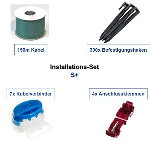 genisys Installation Set S+ Bosch Indego 350 400 800 Connect Kabel Haken Verbinder Paket