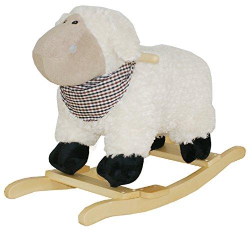 Sweety Toys 7103 animal à bascule mouton avec Lullaby Musique