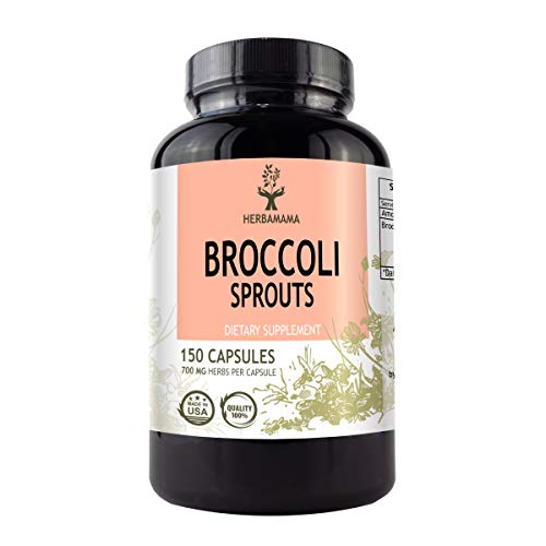 Broccoli Sprouts Extract 150 Capsules 700 mg | Liver Support | Strengthens The Immune System | Antioxidant