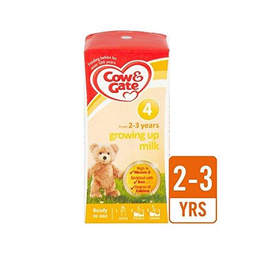 Cow & Gate 4 Aufwachsen Milch Bereit 200Ml Zu Füttern