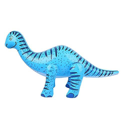 Juguete inflable de la piscina del dinosaurio, accesorios inflables del juguete del partido del dinosaurio de la simulación Niños juguete educativo del juego de los niños(ES)