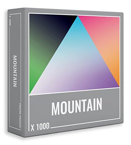 Cloudberries Mountain: Puzzle Gradiente da 1000 Pezzi!