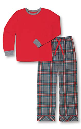 PajamaGram Big Boys' Flannel...