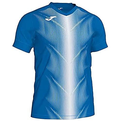Joma Olimpia Camisetas, Hombres, Royal/Blanco, M