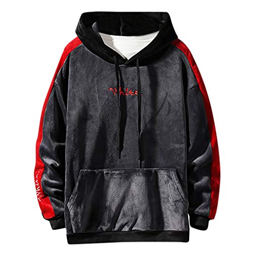 Hemd Herren DDR Retro Shirt Element Sweatshirt Herren Herren Hooded Sweat Tank Tops Freizeithemden Herren Langarm Baumwolle 3D Hoodie Herren Feinstrick Pullover Herren Wahr Hemd Blau