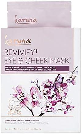 Karuna 单身复颜 + 眼部和脸颊面具