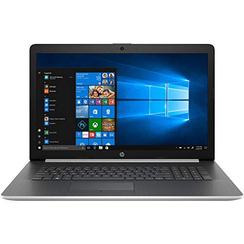 2020 Newest HP Pavilion 17.3 Inch Touchscreen Laptop (Intel 4-Core i5-8265U up to 3.9GHz, 12GB DDR4 RAM, 1TB SSD, Intel UHD 620, WiFi, Bluetooth, HDMI, Webcam, DVD, Windows 10 Home) (Silver)
