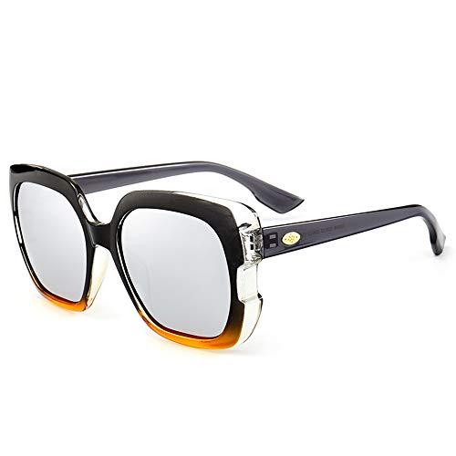 JLC Gafas de Sol Hombre Mujer UV400 Protección Gafas de Sol Polarizadas,C