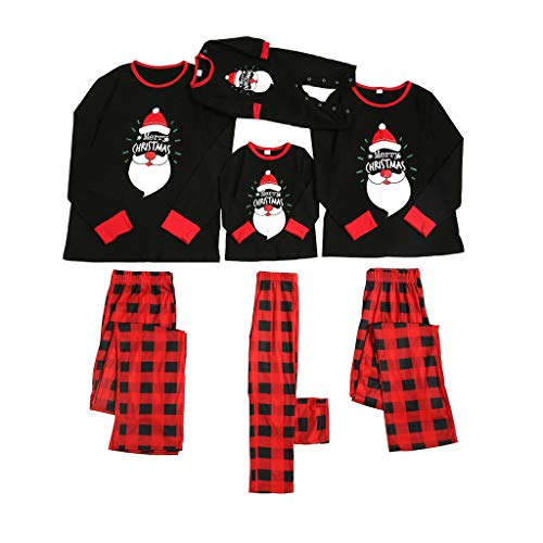 SERYU Christmas Family Pajamas Matching Sets Soft Reindeer Xmas Clothes Pajama Collection Loungewear