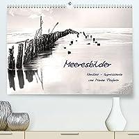 Meeresbilder - Nordsee-Impressionen (Premium, hochwertiger DIN A2 Wandkalender 2022, Kunstdruck in Hochglanz): Bilder der deutschen und daenischen Nordseekueste monochrom nachbearbeitet. (Monatskalender, 14 Seiten )