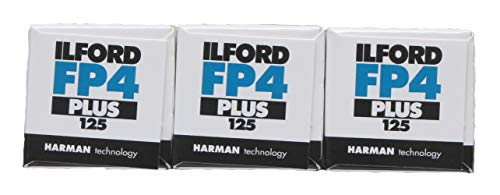Ilford Black and White FP4+ 120 Roll Film - 3 Pack