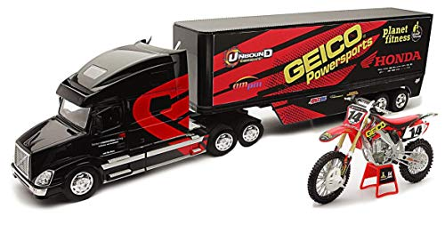 New Ray 810258 - Estuche para camión 1/32 Geico Honda Kevin Windham C