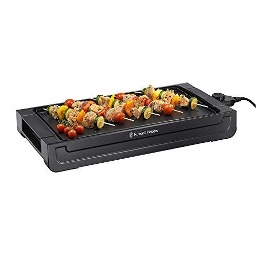 Russell Hobbs Fiesta - Plancha de Cocina Eléctrica (2400 W, Apta Lavavajillas,...