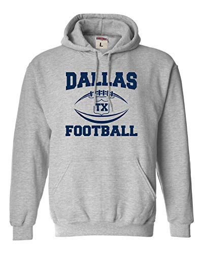 Go All Out X-Large Oxford Adult Dallas Football Sweatshirt Hoodie