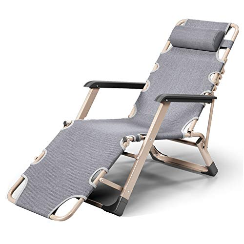 Gartenstuhl Klappstuhl Nap Stuhl Lazy Couch Leicht und tragbar Geeignet for Büros, Gartenhöfe, Strandcamping
