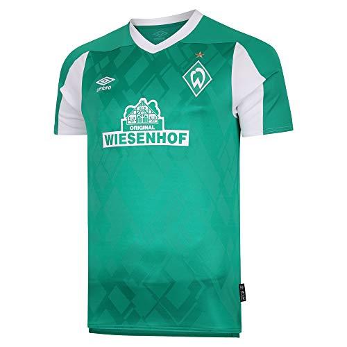 UMBRO Herren Werder Bremen 20-21 Heim Trikot grün XXL