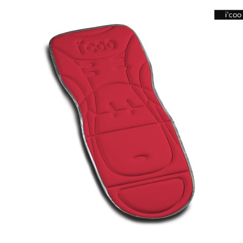 I'coo 2012 Universal Seat Pad Sitzpolster Sitzeinlage Chilli