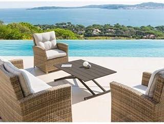 meilleur service 36d1d dc414 Amazon.fr : table basse relevable jardin