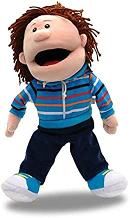 Fiesta Crafts Hand Puppet Boy moving mouth T-2419