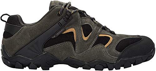 Mountain Warehouse Curlews Mens Waterproof Walking Shoes - Hiking Sneakers Khaki 9 M US Men