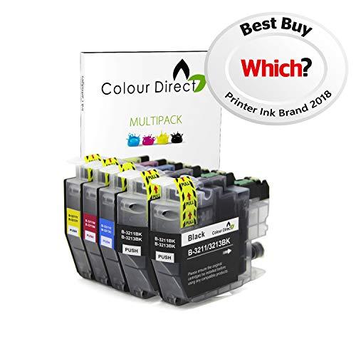 Colour Direct Compatibile Cartucce d'inchiostro Sostituzione per Brother LC3211