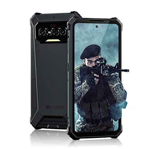 Móvil Libre Resistente 5G OUKITEL WP15 15600mAh Batería Gigantesca Dual 5G Android 11 Telefono Moviles Octa Core, Smartphone Todoterreno 8 + 128GB Pantalla HD + 6.52', Cámara 48MP + 8MP, NFC, GPS