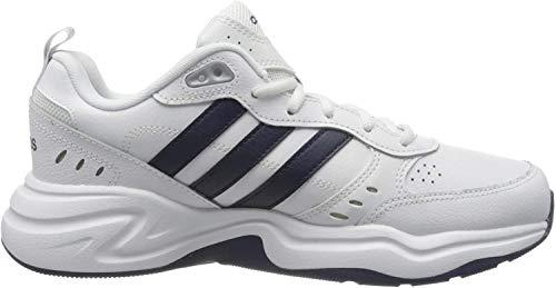Adidas Mężczyźni Strutter, Buty Sportowe, Biały/Czarny, 42 EU EU