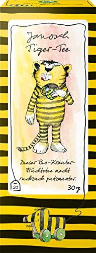 レーベンスバウム Lebensbaum ハーブティー オーガニック ティーバッグ ノンカフェイン ブレンド ヤノッシュ とらさんの ルイボスミントティー 1.5g×20P