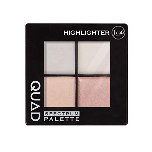 J. CAT BEAUTY Quad Spectrum Palette - Highlighter (6 Pack)