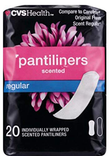 Expect More CVS Pharmacy Pantiliners Scented Regular. Pack of 3