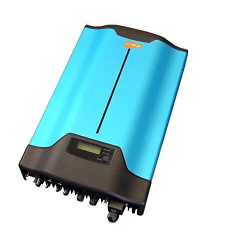 Solar Wechselrichter 3000W/4000W Solar PV Inverter 150V-550V Power Converter Grid-Tie Wechselrichter 353x182x605 mm Waterproof IP65 für Sonnenkollektoren Reine Sinuswelle Stromrichter