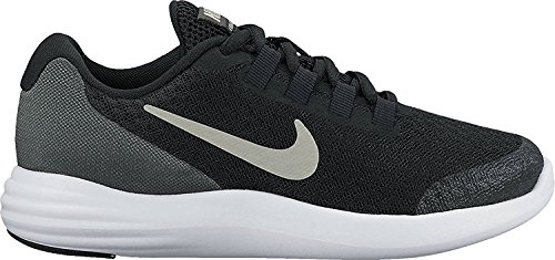 Nike Lunarconverge (PS) Running Shoes (10.5 Little Kid M, Black/Matte Silver/Anthracite)