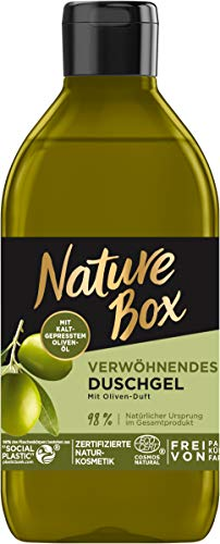 Nature Box Verwöhnendes Duschgel mit Oliven-Duft, 250 ml