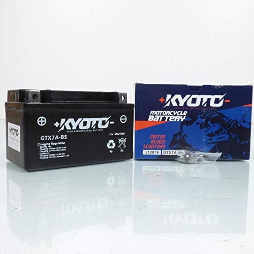 Kyoto - Batteria per scooter Daelim 125 Ns Otello Dlx 1999-2007 YTX7A-BS SLA / 12 V 6 Ah