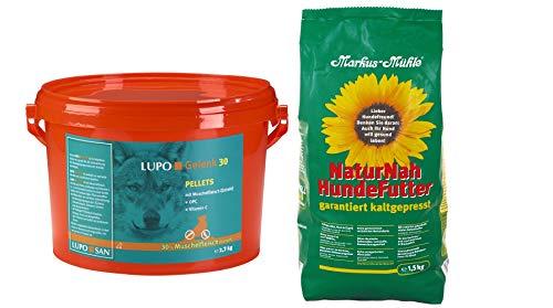 Luposan Lupo Gelenk 30 PELLETS 2700g + 1,5kg NaturNah Hundefutter gratis!!!