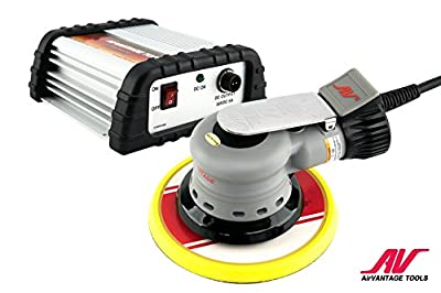 """AirVANTAGE 6"""" Palm-Style, 1st Generation Electric Sander Kit with Power Supply Non-Vacuum with Pad"""