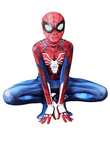 Ditard Kids Full Body Costume Spandex Pretend Play Superhero Zentai Cosplay Onesie Suit