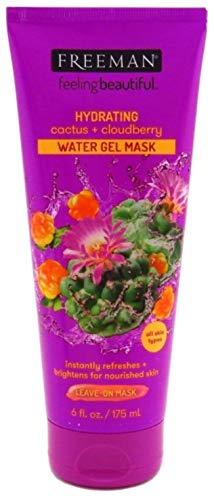 Freeman Cactus & Cloudberry Water Gel Mask, 6 Oz