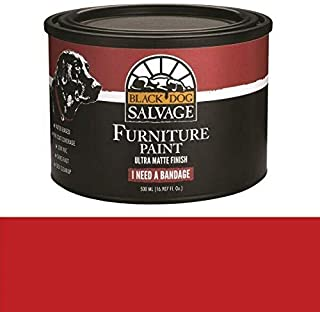 Black Dog Salvage I Need a Bandage (Red) 500ml Furniture Paint