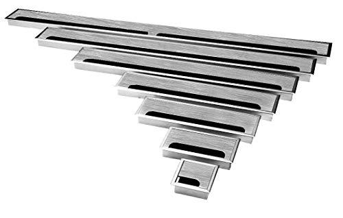 Edelstahl Kabeldurchführung in 7 Längen von 80-1000mm Breite 80mm (80x80mm)