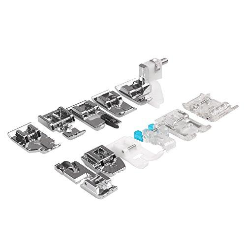 YChoice365 - Pies prensatelas multifunción para máquina de coser y prensatelas, accesorios para máquina de coser Brother Singer
