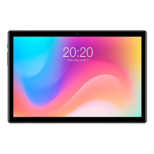 TECLAST M40 10.1 Inch Android 10.0 Tablet, 6GB RAM 128GB ROM, Octa-Core CPU 850MHZ Gaming GPU, 1920x1200 FHD IPS Touch Screen, 5MP+8MP Camera, Type-C 2.4G+5G WiFi BT5.0, Support OTG+Sim Card