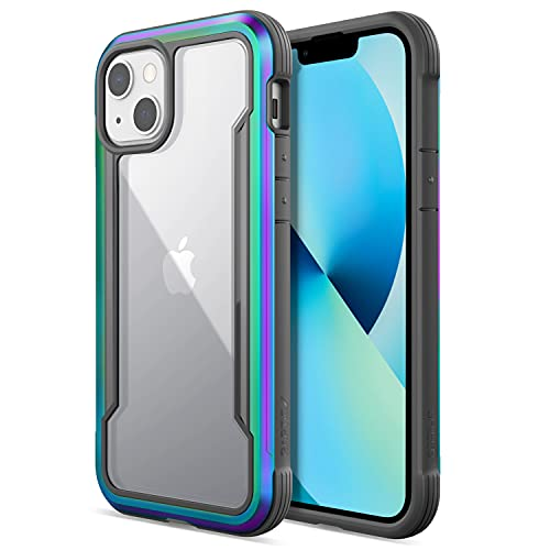 Raptic Shield Case Compatible with iPhone 13 Case, Shock Absorbing Protection, Durable Aluminum Frame, 10ft Drop Tested, Fits iPhone 13,...