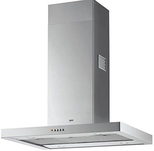 Zanussi ZHS92350XA De pared Acero inoxidable 380m³/h - Campana (380 m³/h, Canalizado/Recirculación, 61 dB, 290 m³/h, 46 dB, 61 dB)